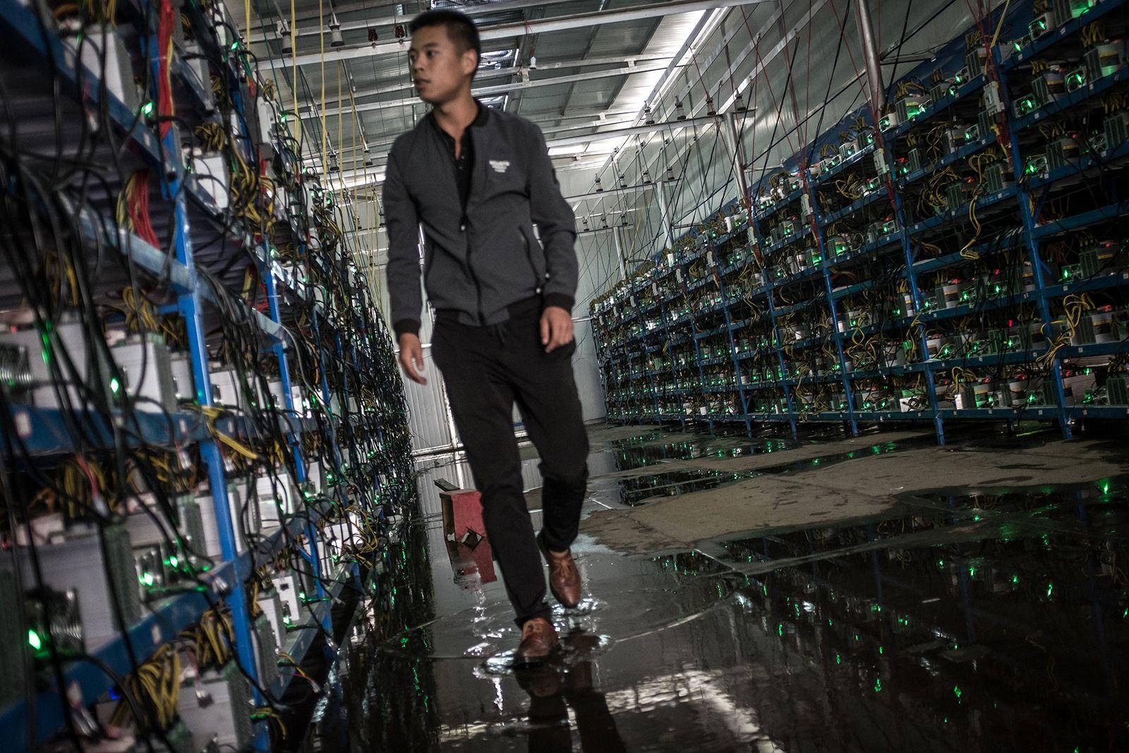 Майнинг биткоинов в китайских масштабах