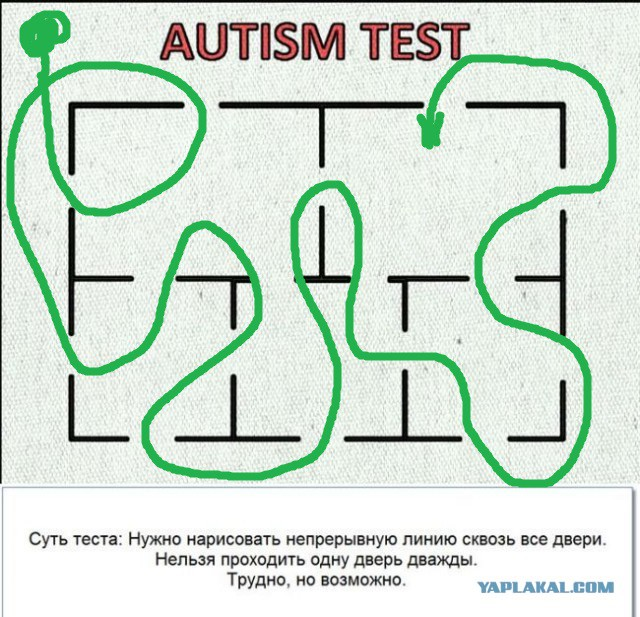 Autism adult test