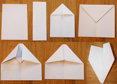 Как сделать самолеты из бумаги своими руками