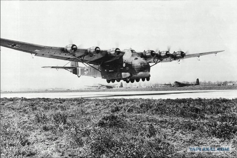 гигант из эскадры kg 323 zbv над средиземным морем