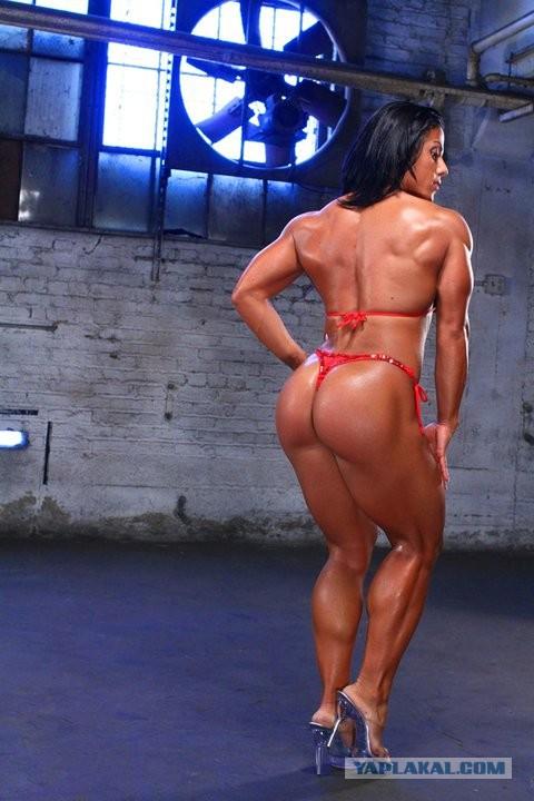 мускулистая попа фото девушка