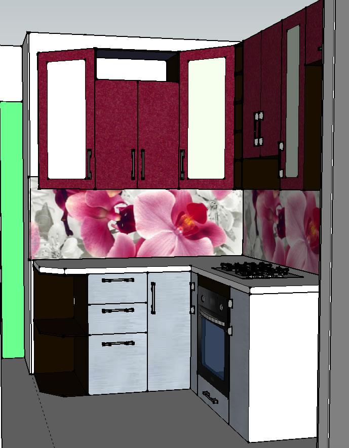 Ремонт своими руками кухня 6 квм