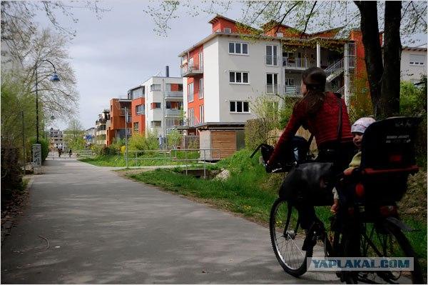 Город без машин (7 фото)