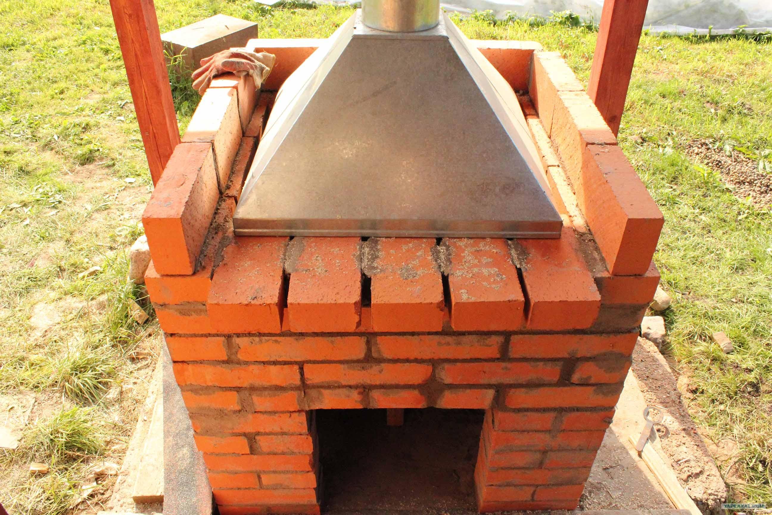Как построить мангальницу