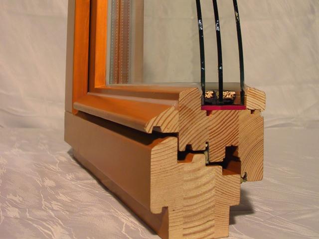 Деревянного окна со стеклопакетами своими руками 668