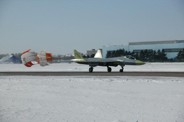 Испытания второго прототипа Т-50 (ПАК ФА)
