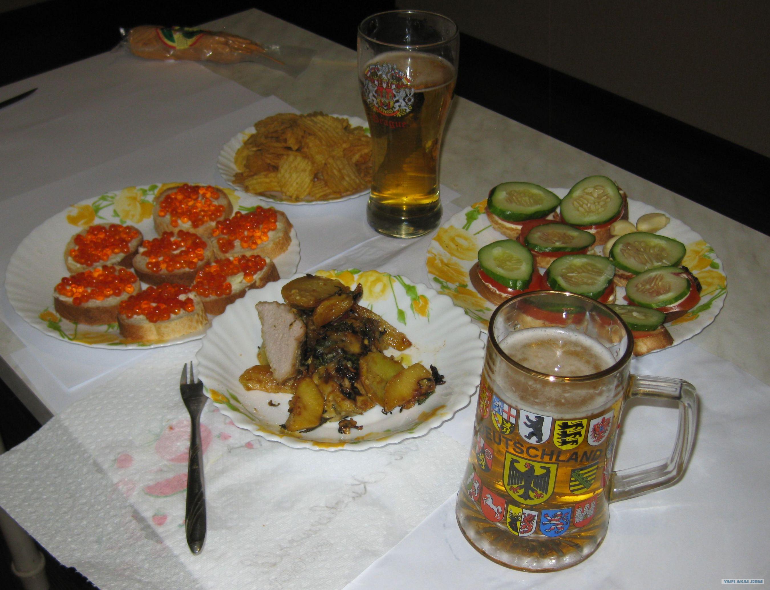 Закуска под пиво в домашних условиях