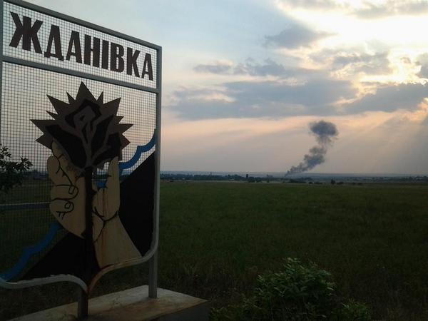 Сбиты украинские вертолет МИ-8 и истребитель МиГ29