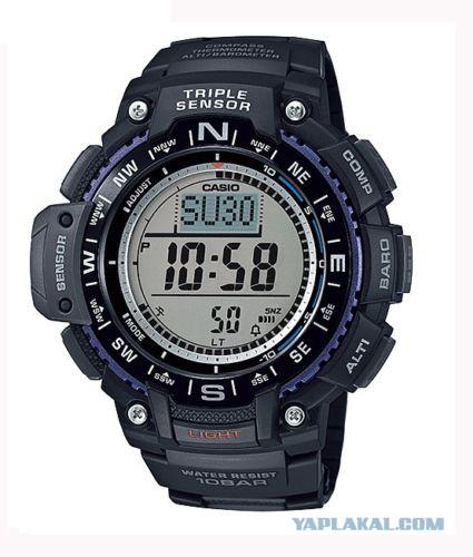 Продаю спортивные часы Casio SGW SGW1000-1A