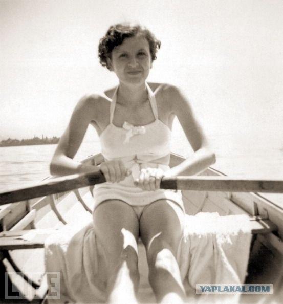 Ранее неизвестные фото любовницы Гитлера