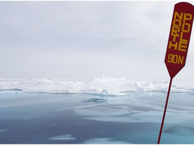 Зимняя катастрофа в Арктике: на 20 градусов теплее нормы, лёд тает