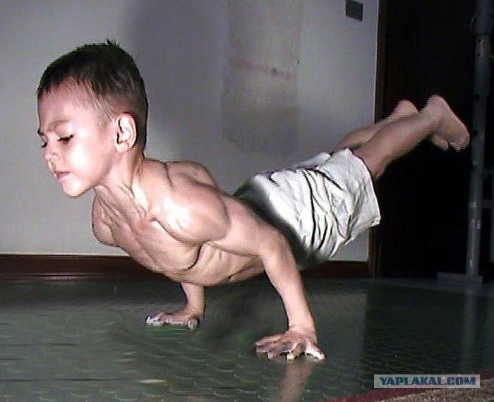 Самый сильный ребенок в мире 2011. Сергей Полезин, Samogo.Net.