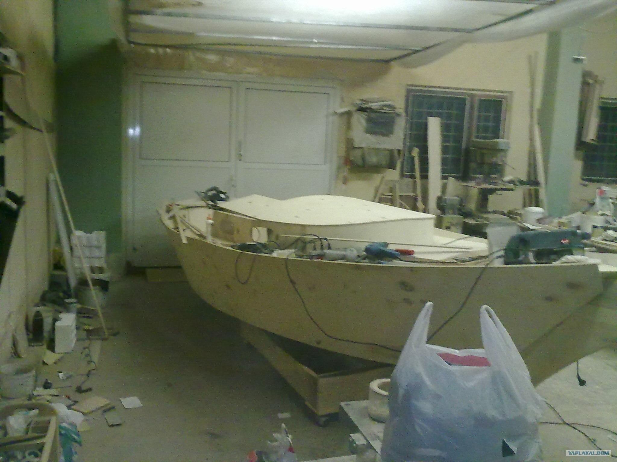 Деревянная лодка 47