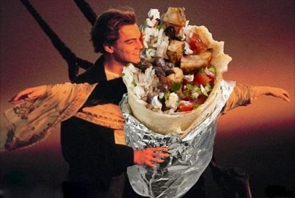 Ди Каприо съел стейк после прочтения лекции о вегетарианстве
