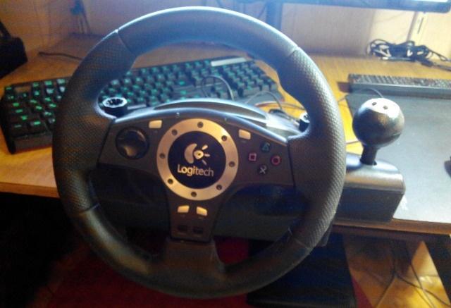 Руль Logitech Driving Force Pro