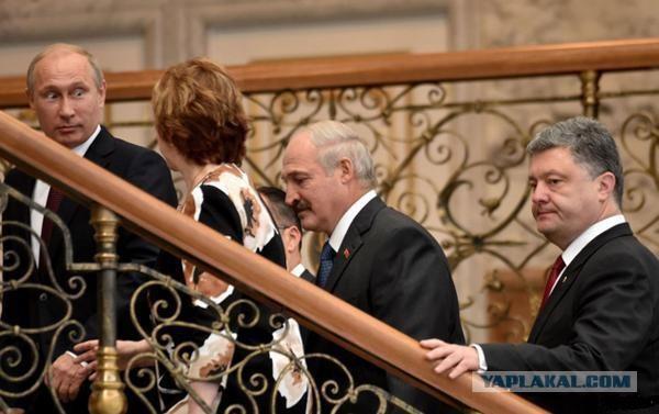 Путин прибыл в Минск на переговоры по Украине