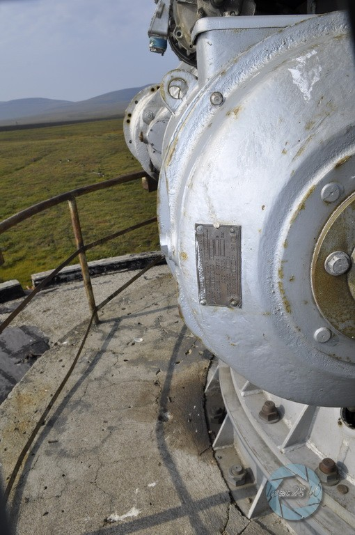 Заброшенная станция спутниковой связи Орбита. Певек, Чукотка