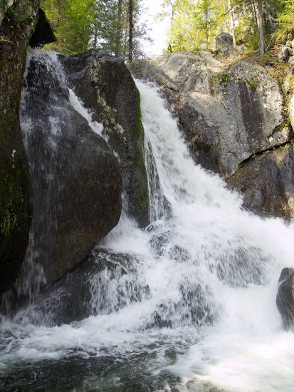 Водопады Северного Урала