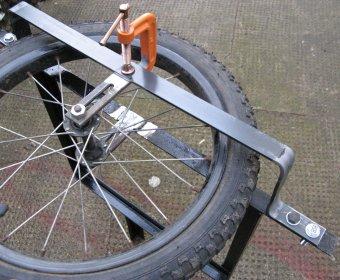 Прикольный самодельный велосипед с коляской.