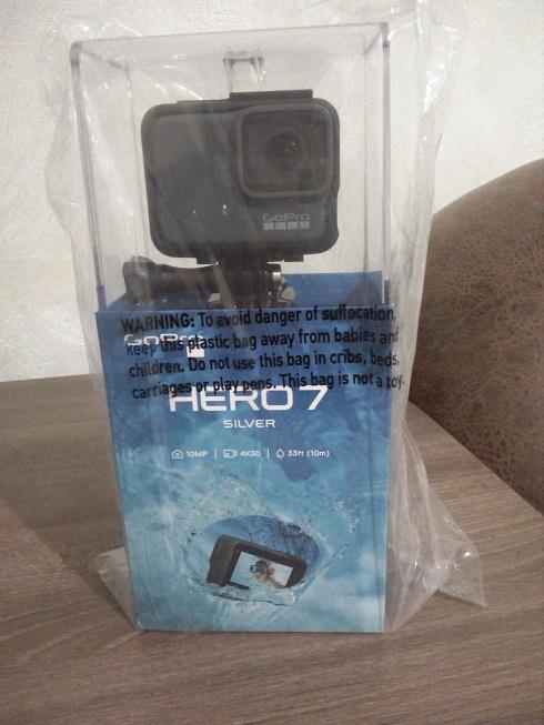 GoPro Hero 6 Black Новая и GoPro Hero 7 Silver Новая
