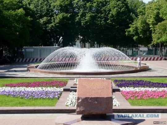 Фонтаны в Москве (ФОТО)