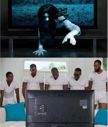 В этот раз она просто не тот телевизор выбрала
