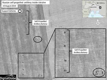 НАТО показала фотографии российской техники