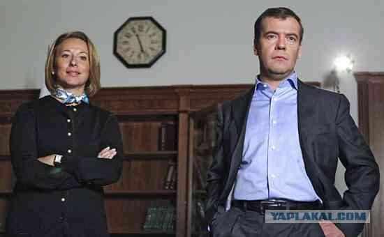 Пресс-секретарь Медведева купила дом