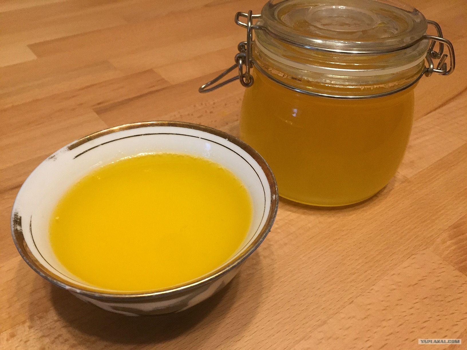 Как сделать топленое масло в домашних условиях рецепт с фото