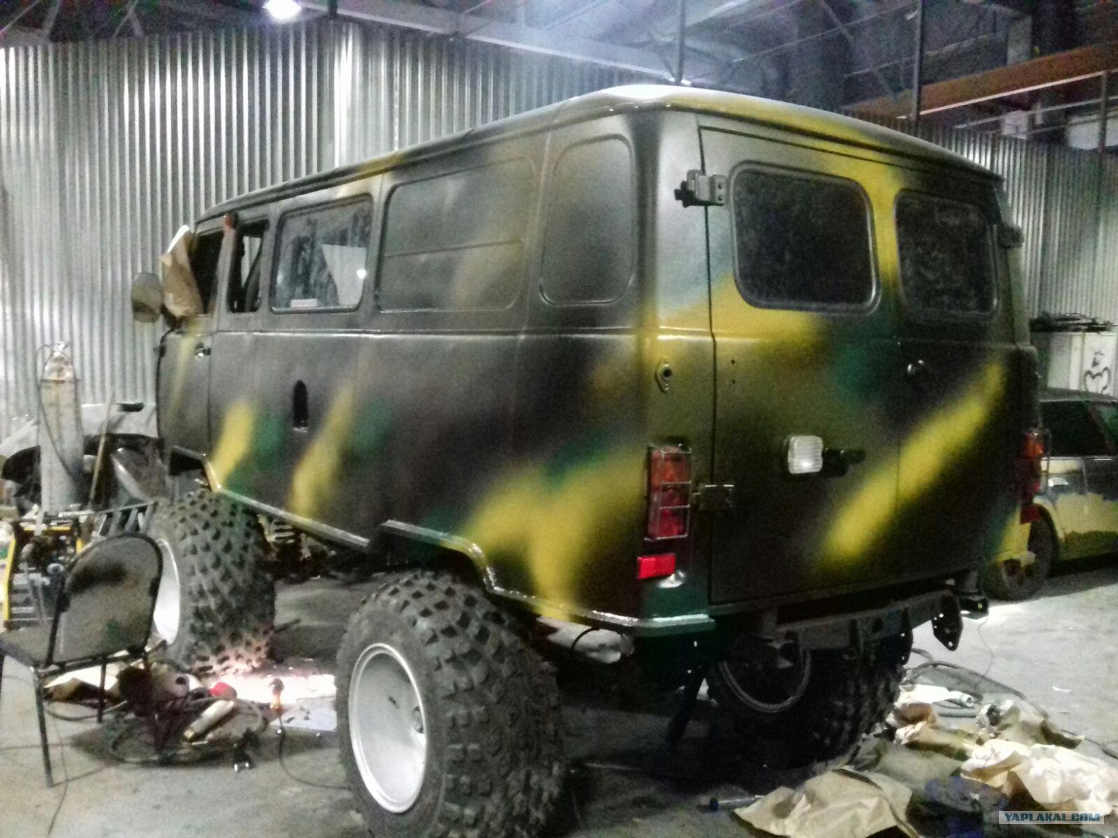Покраска УАЗа в камуфляж своими руками - Ремонт и тюнинг кузова 100