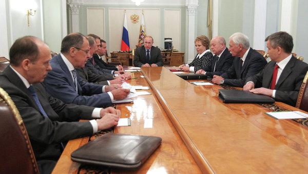 22 июля заседание Совбеза РФ