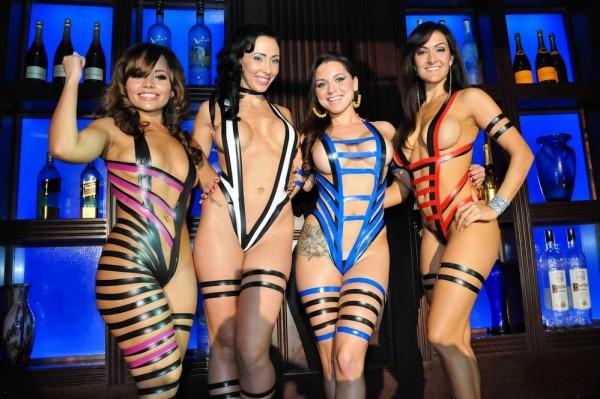 Новый модный тренд в Бразилии: бикини из изоленты