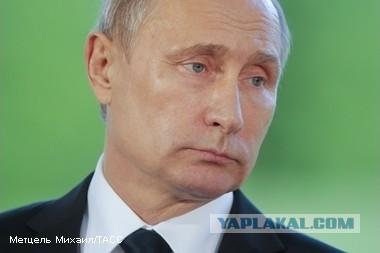 Путин отменил все намеченные на неделю поездки и встречи