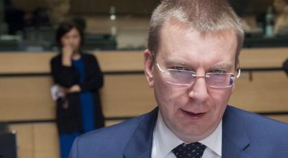 Глава МИД Латвии сравнил Россию с Третьим рейхом