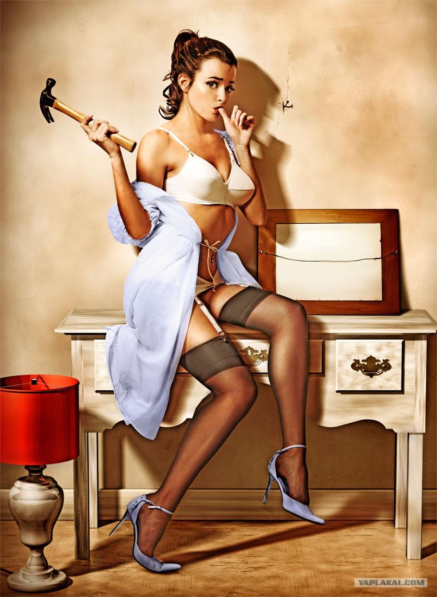 Смешные картинки голых женщин