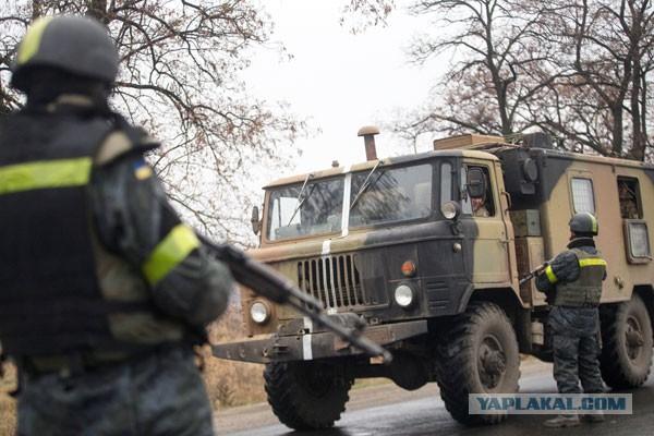 Украинские военные отказались выводить войска из Ш