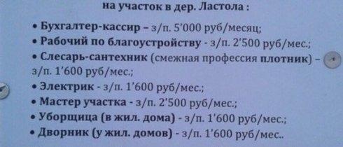 Под Архангельском зарплата электриков составляет 1600 рублей в месяц