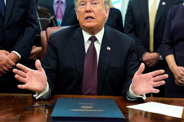 Президент США ввел в стране чрезвычайное положение