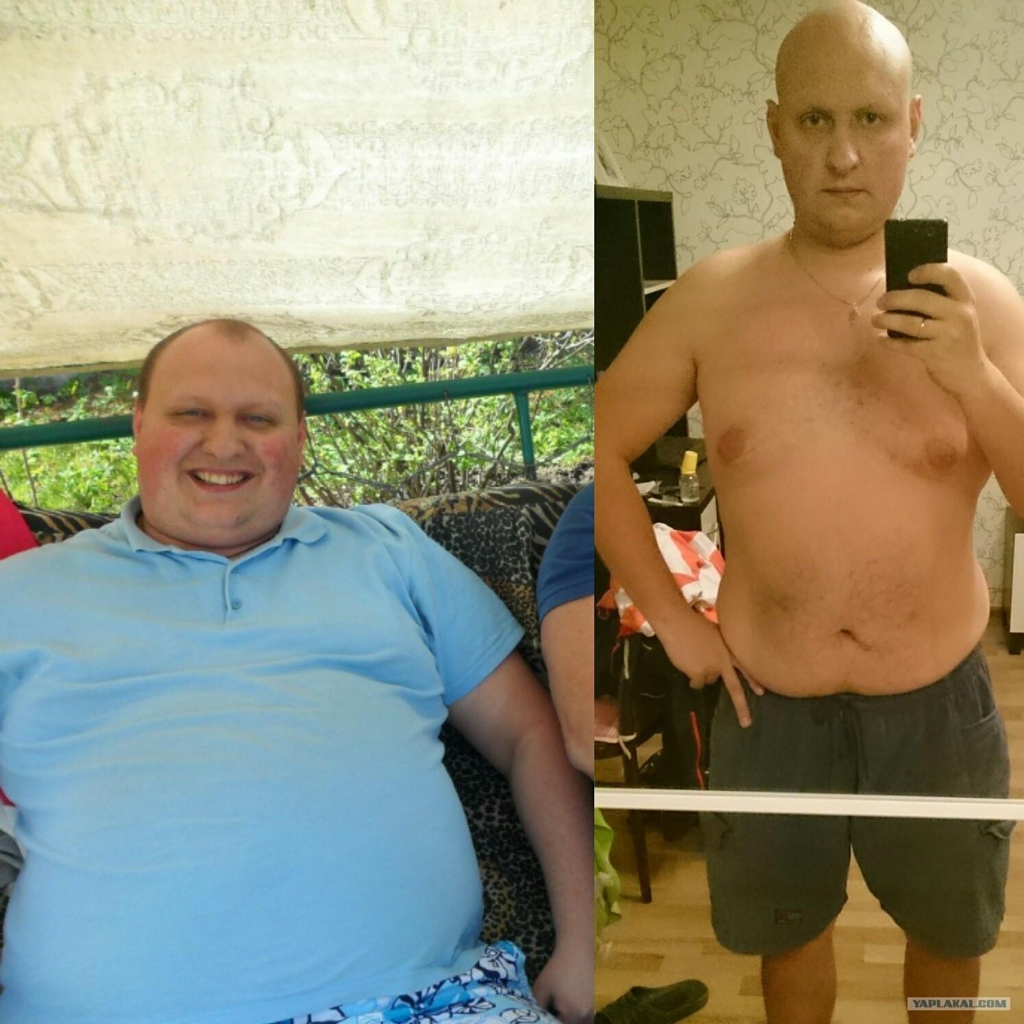 Как я похудел на 50 кг за полгода