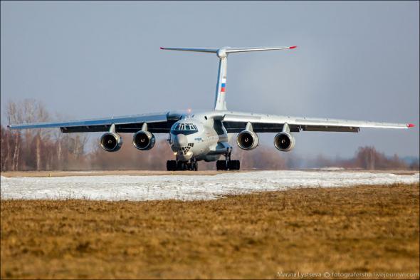 Cобран первый cерийный Ил-76МД-90А