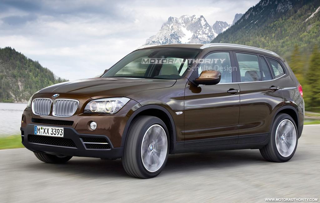 Появилась новая информация и фото обновленного BMW X3.