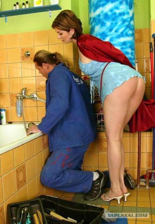 И мамаша сантехник смотреть русская