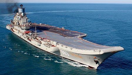 Все в штыки: какие провокации ждут крейсер «Адмирал Кузнецов» у берегов Сирии