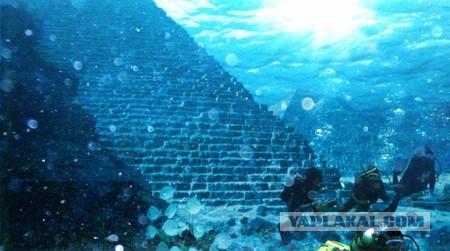На дне бермудского треугольника отыскали затонувший город