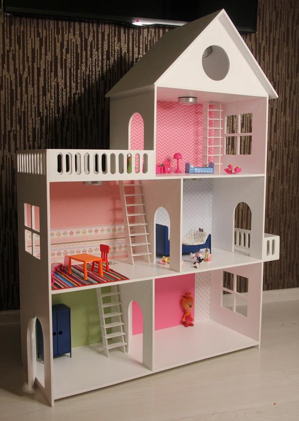 """""""Папа сказал - папа сделал! Кукольный дом своими руками."""""""