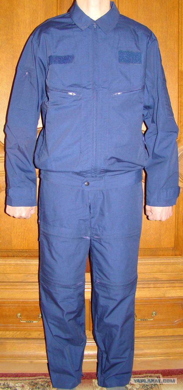 Лётный костюм синий,нов. обр.