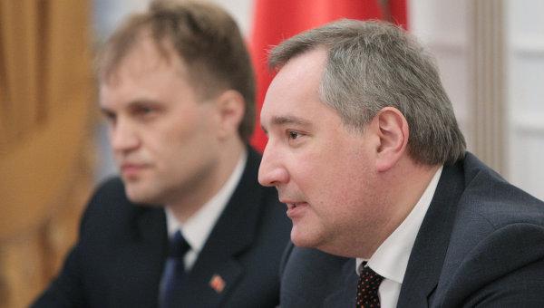 Визит Рогозина в Приднестровье