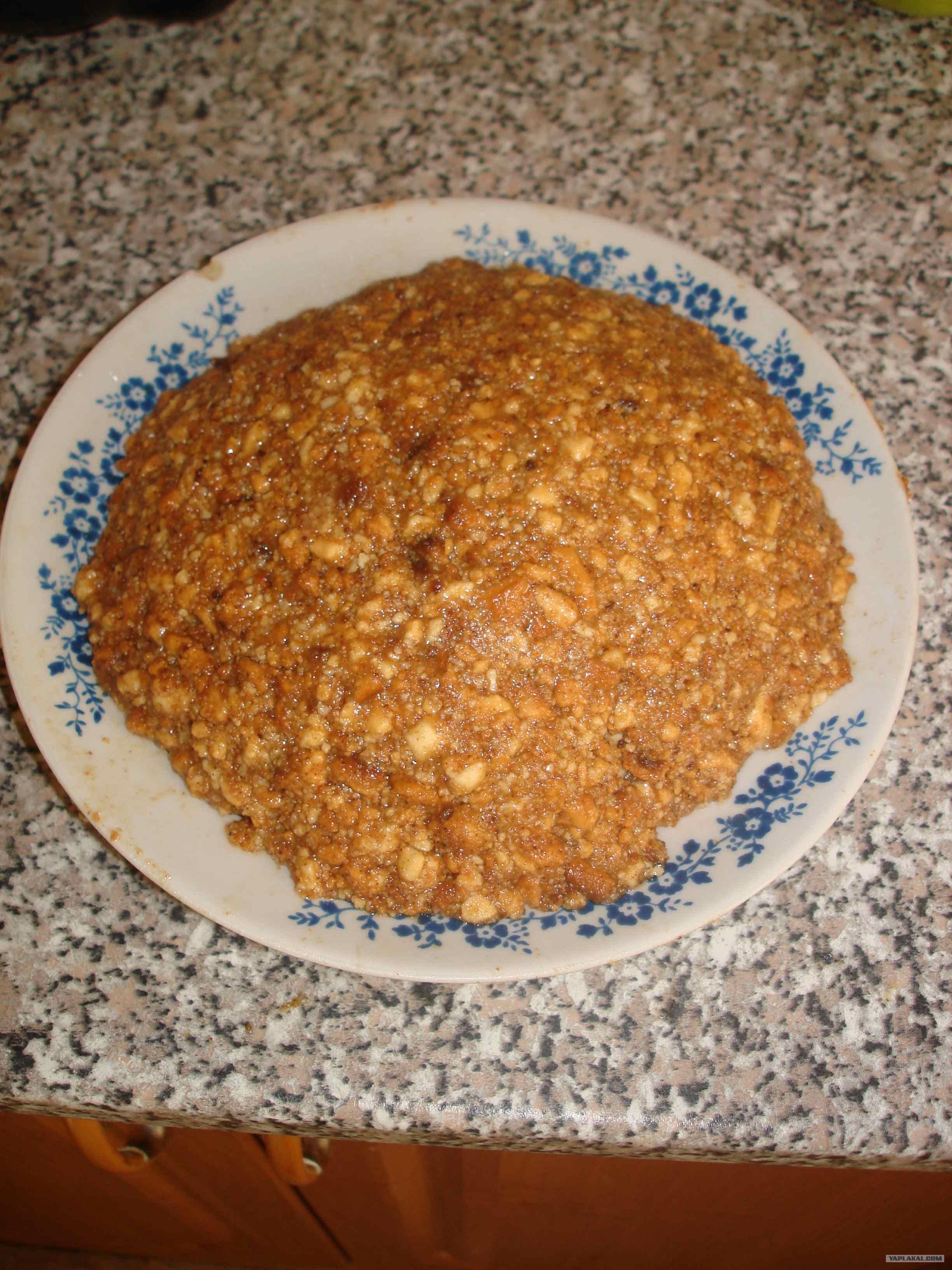Рецепт муравьиная горка с фото