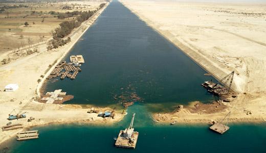 Египет закроет Суэцкий канал
