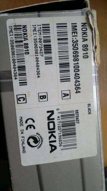 Nokia 8910 Natural Titanium